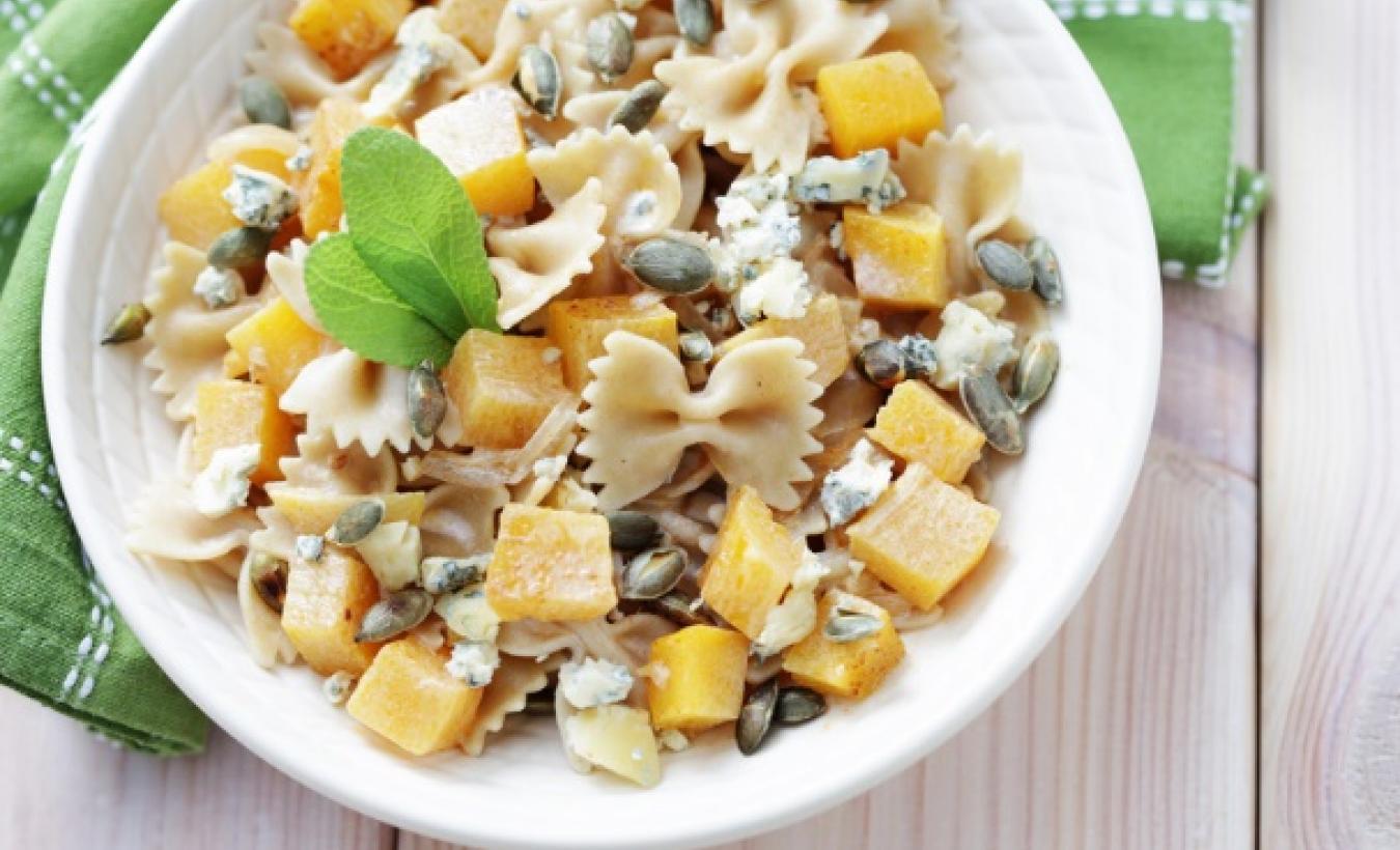 Vegetarische pasta met pompoen.jpg